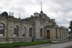 Вокзал в Слюдянке - Туризм на Байкале