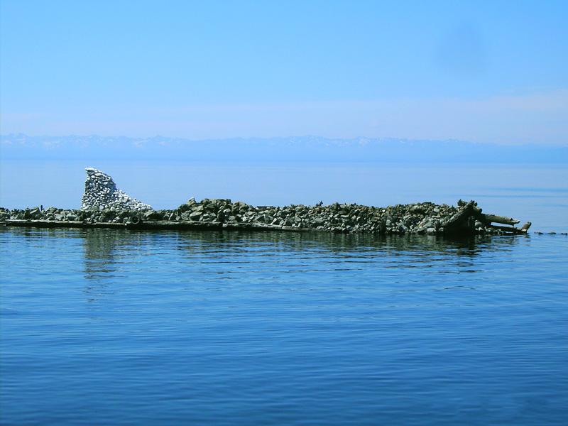 Недалеко от берега - Отдых на Байкале
