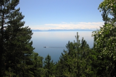 Вид с подъемника - Отдых на Байкале