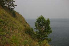 На утесе - Отдых на Байкале