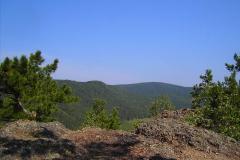 Скала вулканического происхождения - Отдых в Листвянке