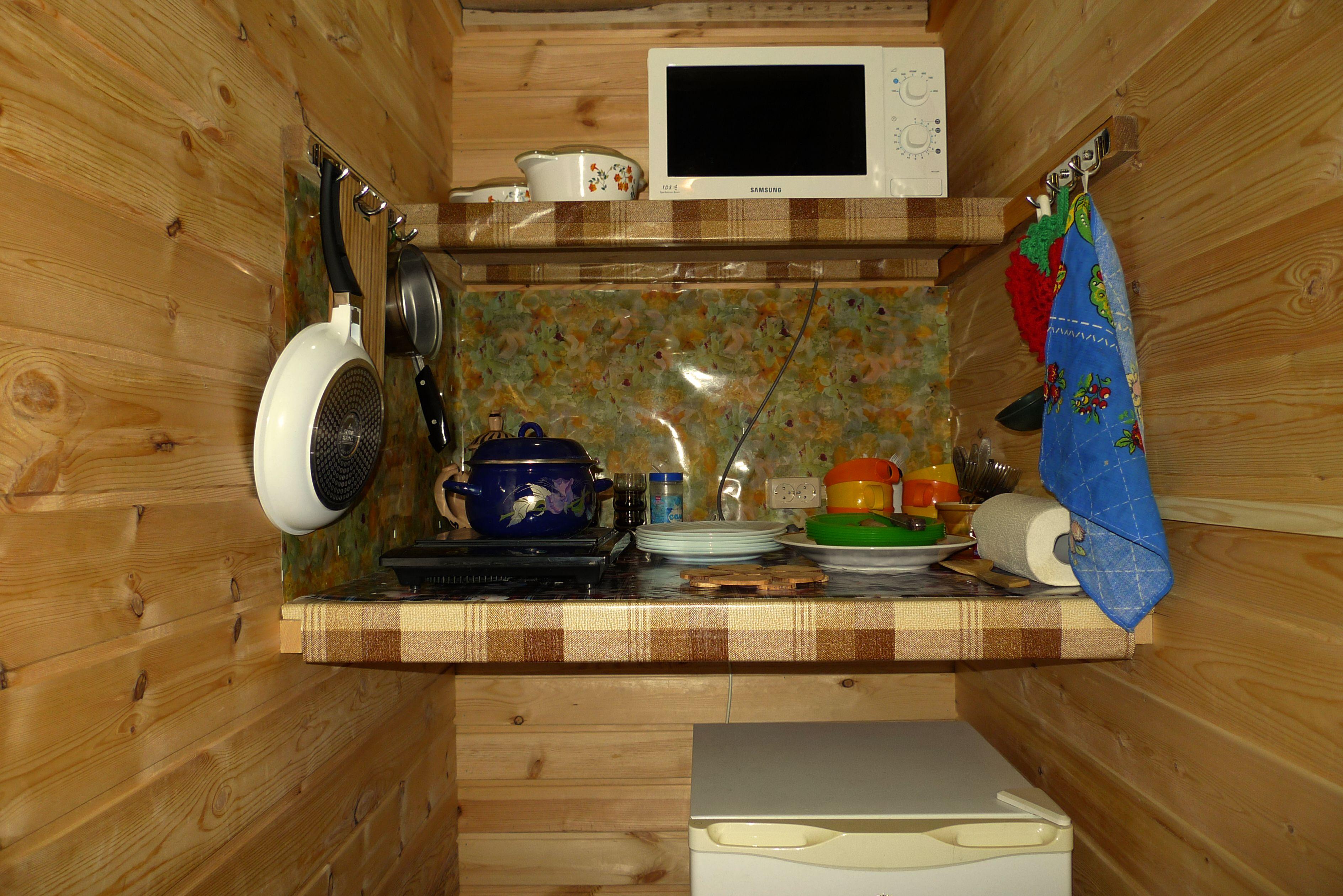 Мини-кухня - Дом на Байкале