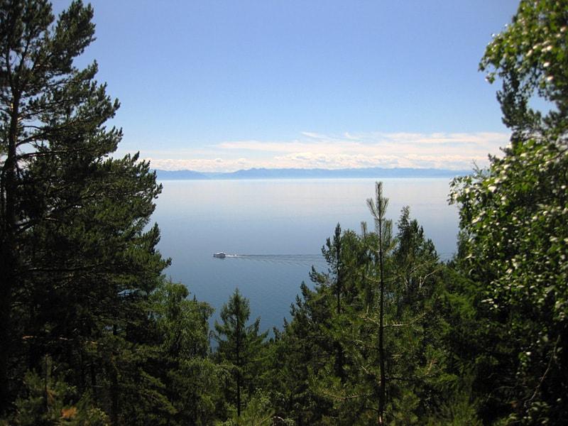 Вид с камня Черского - Отдых на Байкале