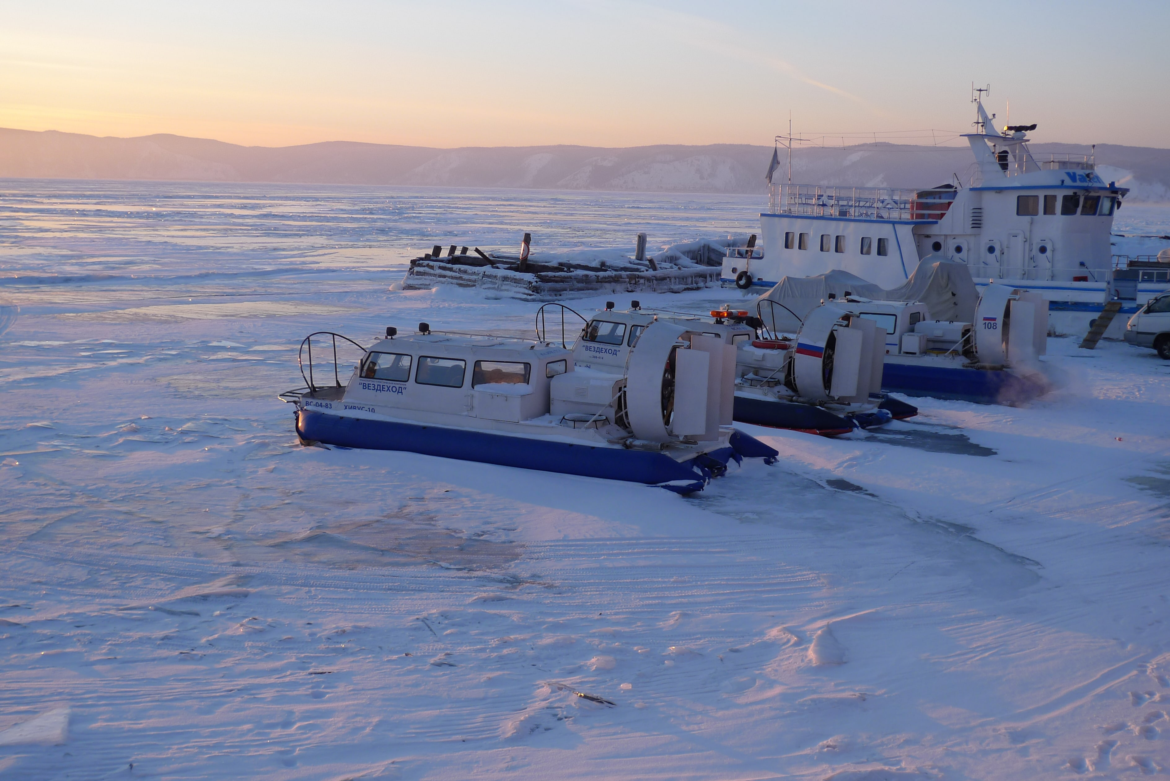 Хивусы в Листвянке. Отдых на Байкале зимой