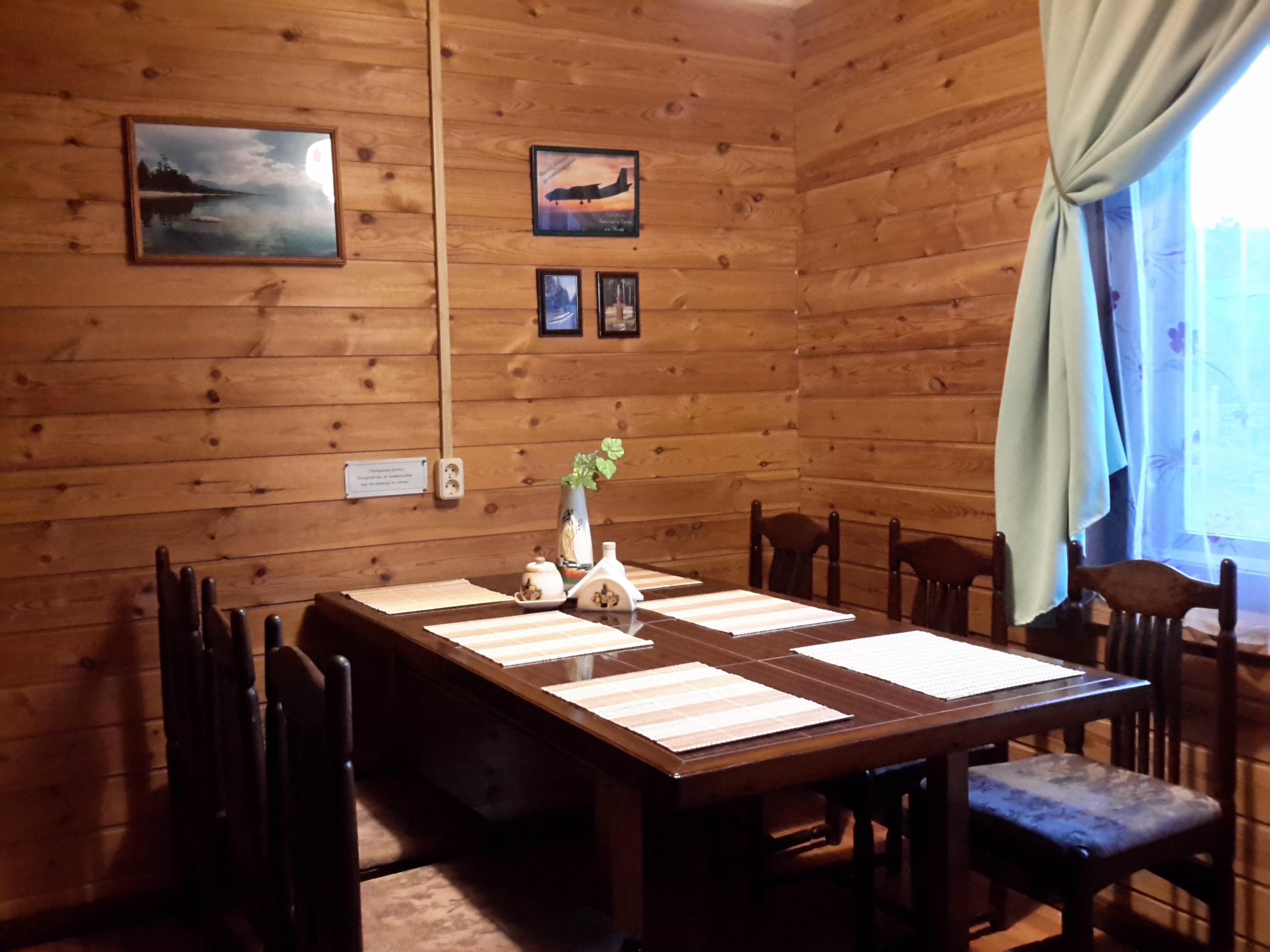 Общая комната - Дом на Байкале